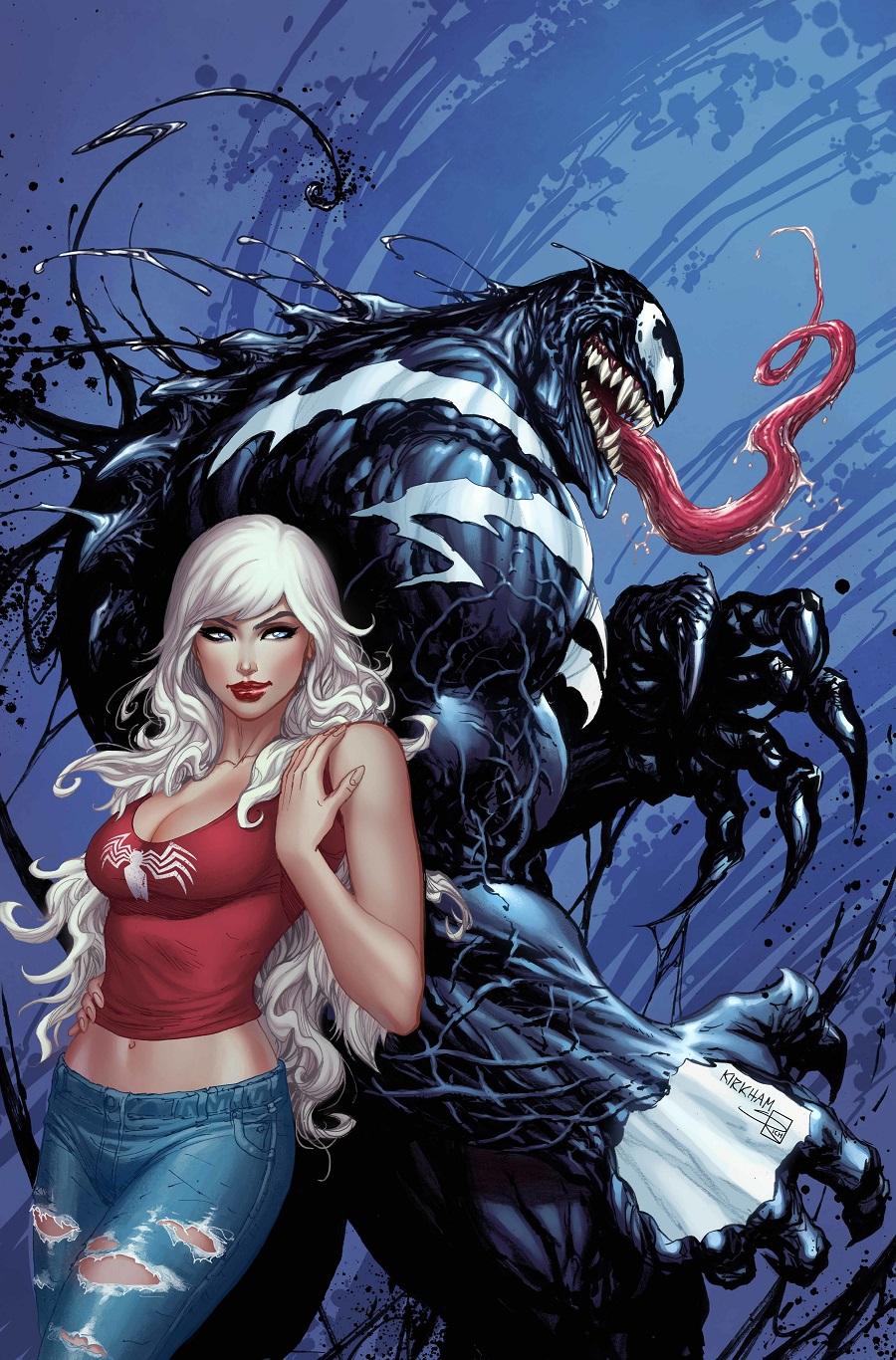 Spiderman Black Cat Cover