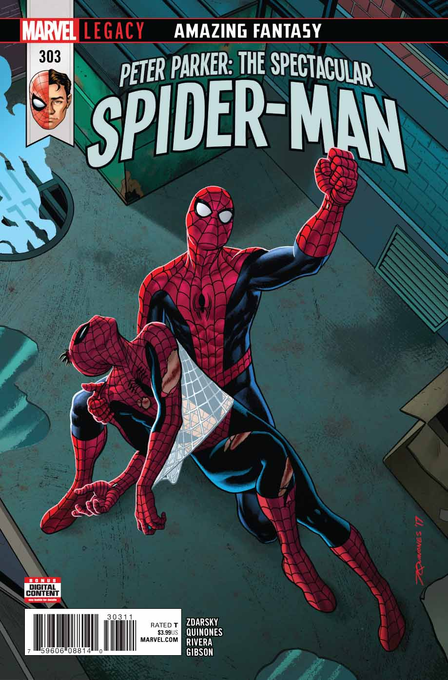 Peter Parker The Spectacular Spider Man 303