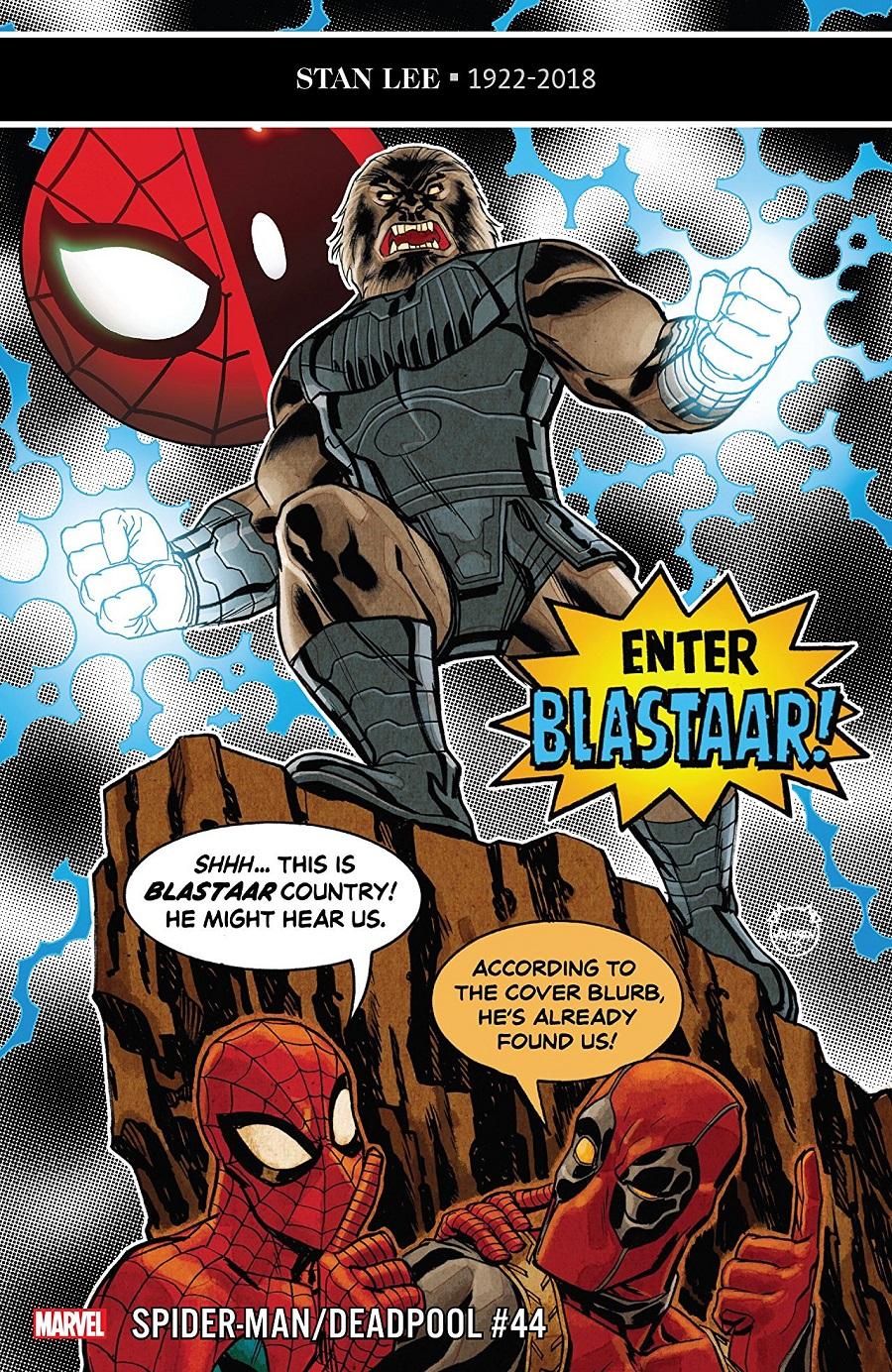 Previews: October 16th, 2019 - Spider Man Crawlspace